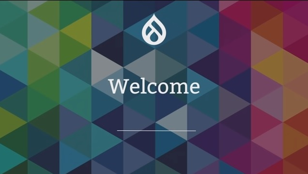 welcome drupal 8